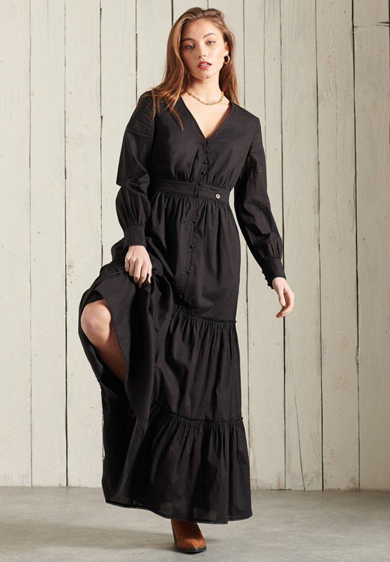 Superdry - BOHEMIAN - Maxi dress - black