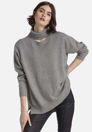 MIT KASCHMIR - Pullover - grey melange