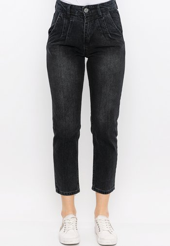 Relaxed fit jeans - antracite