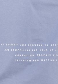 Marc O'Polo DENIM - Print T-shirt - soft heaven - 2