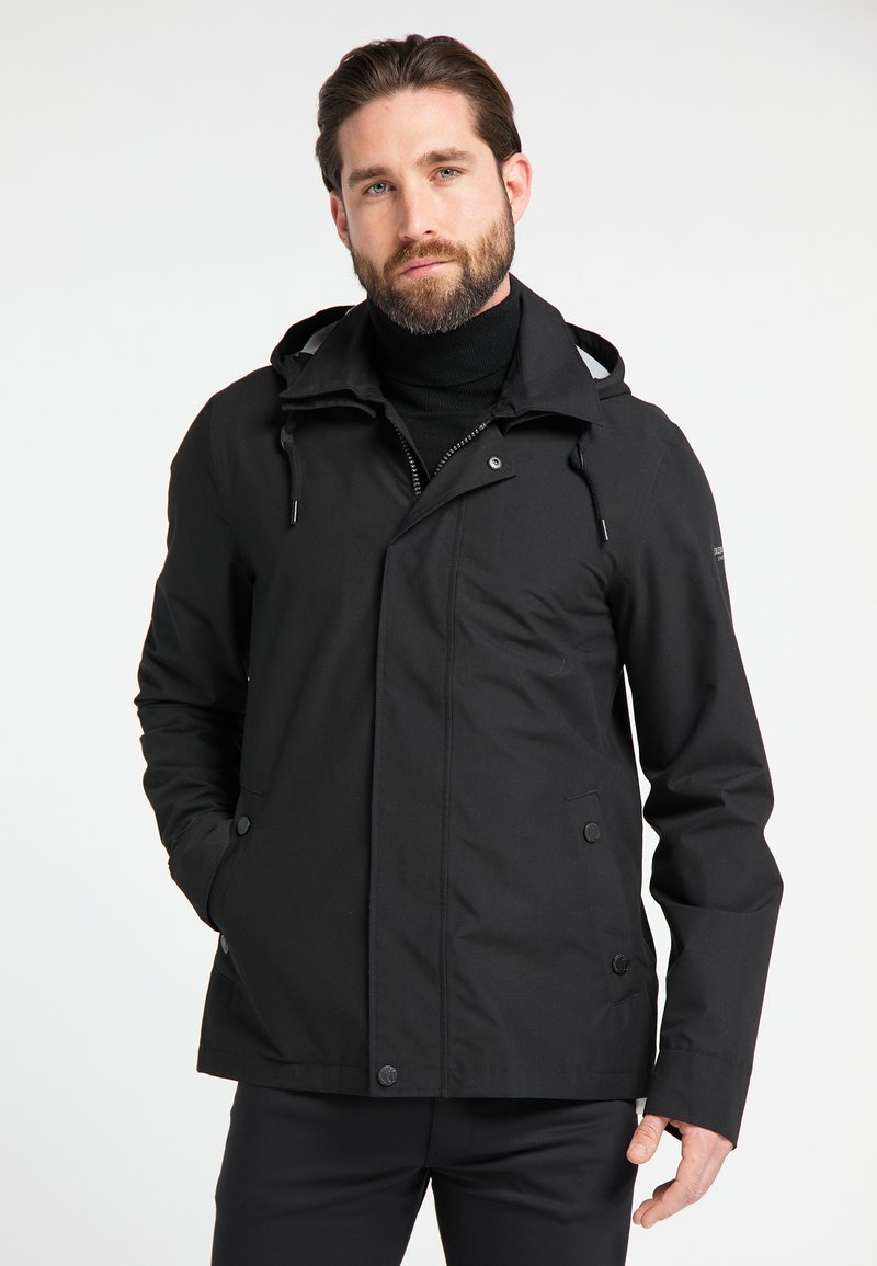 DreiMaster - Waterproof jacket - black
