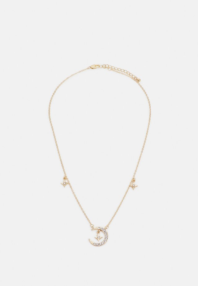 PCPOLINA NECKLACE - Necklace - gold-coloured/clear