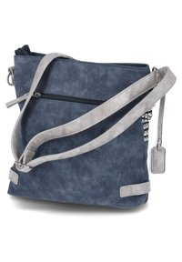 Rieker - Across body bag - blau-kombi - 1