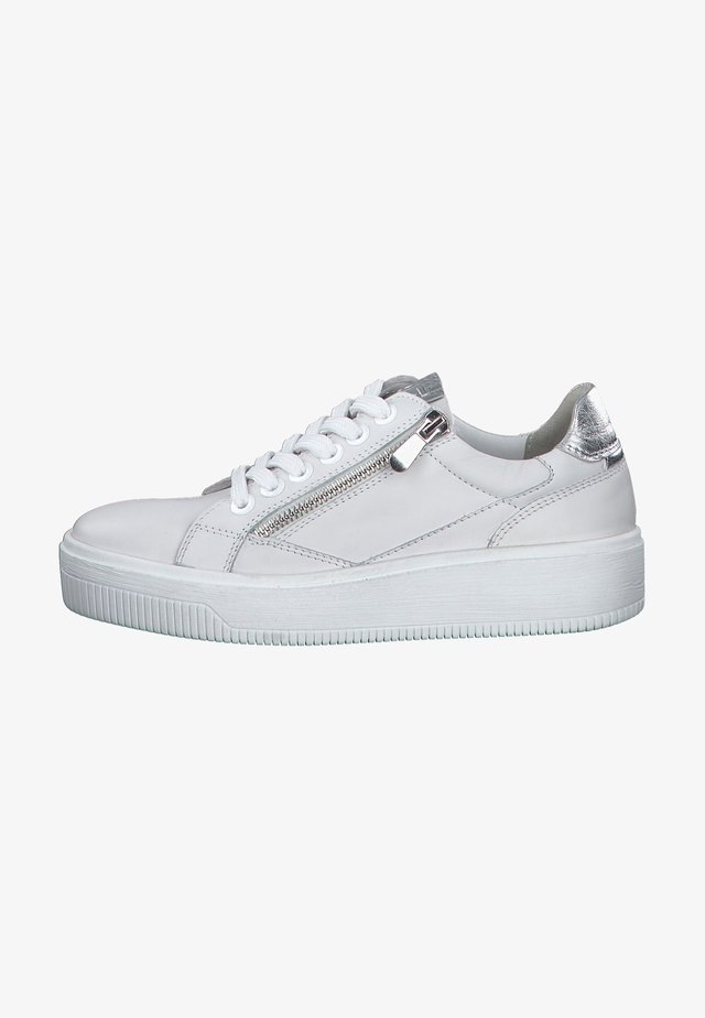 Sneakers laag - white comb