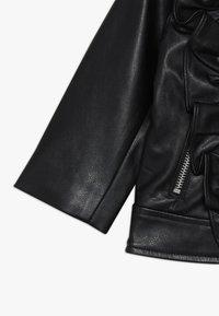 Bardot Junior - JACKET - Faux leather jacket - black - 2