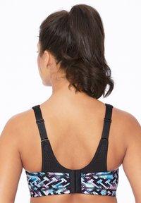 Glamorise - WONDERWIRE MIT VARIABLEM HALT - Sports bra - schwarz/bunt - 1