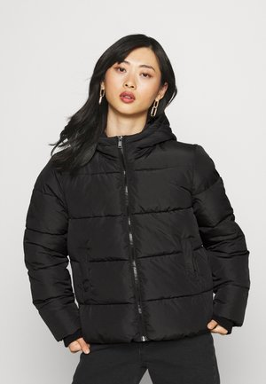 PCBEE NEW SHORT JACKET - Winter jacket - black
