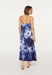 OYSHO - TIE-DYE 30751115 - Day dress - dark blue - 2