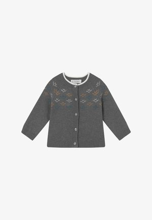 JANU BABY - Kardigan - dark grey