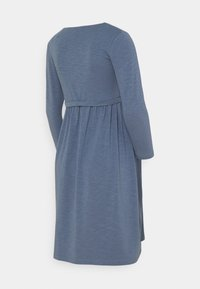 MAMALICIOUS - MLREYSA LIA DRESS - Jersey dress - china blue