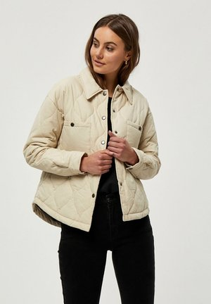 Light jacket - oyster gray