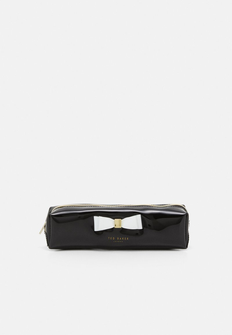 Ted Baker - HOLLEEY BOW BRUSH CASE - Pencil case - black