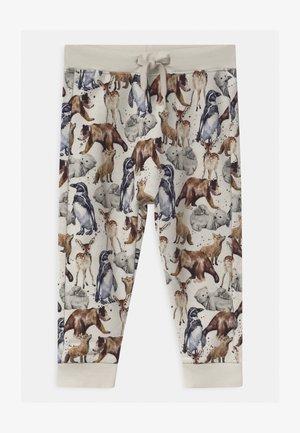 NMMSEWILO - Pantalones deportivos - peyote melange