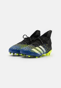 adidas Performance - PREDATOR FREAK .3 FG UNISEX - Moulded stud football boots - coreblack/footwearwhite/solar yellow - 1