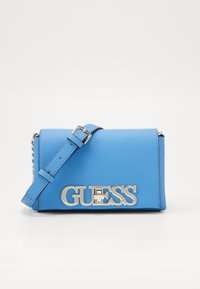 Guess - UPTOWN CHIC MINI XBODY FLAP - Across body bag - electric blue - 0