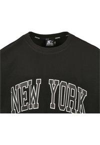 Starter - NEW YORK TEE - Printtipaita - black - 6