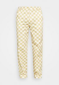 Vintage Supply - CHECKERBOARD PANT UNISEX - Stoffhose - offwhite - 3