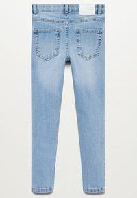 Mango - SKINNY - Jeans Skinny Fit - světle modrá - 1