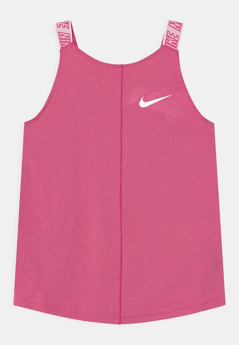 Nike Performance - ELASTIKA - Funkční triko - fireberry/white