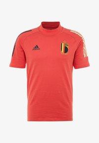 adidas Performance - BELGIUM RBFA - Landslagströjor - glory red - 3