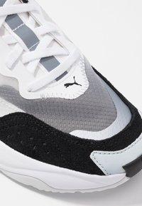 Puma - RISE - Sneakers - black/white - 2