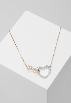 INFINITY NECKLACE - Halskette - rose gold-coloured