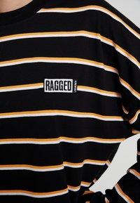 Ragged Jeans - PRAISE - T-shirt à manches longues - black and multi - 4