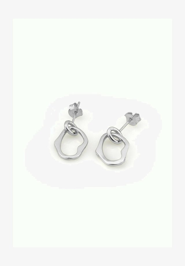 OHRSTECKER ELEGANT - Earrings - silber
