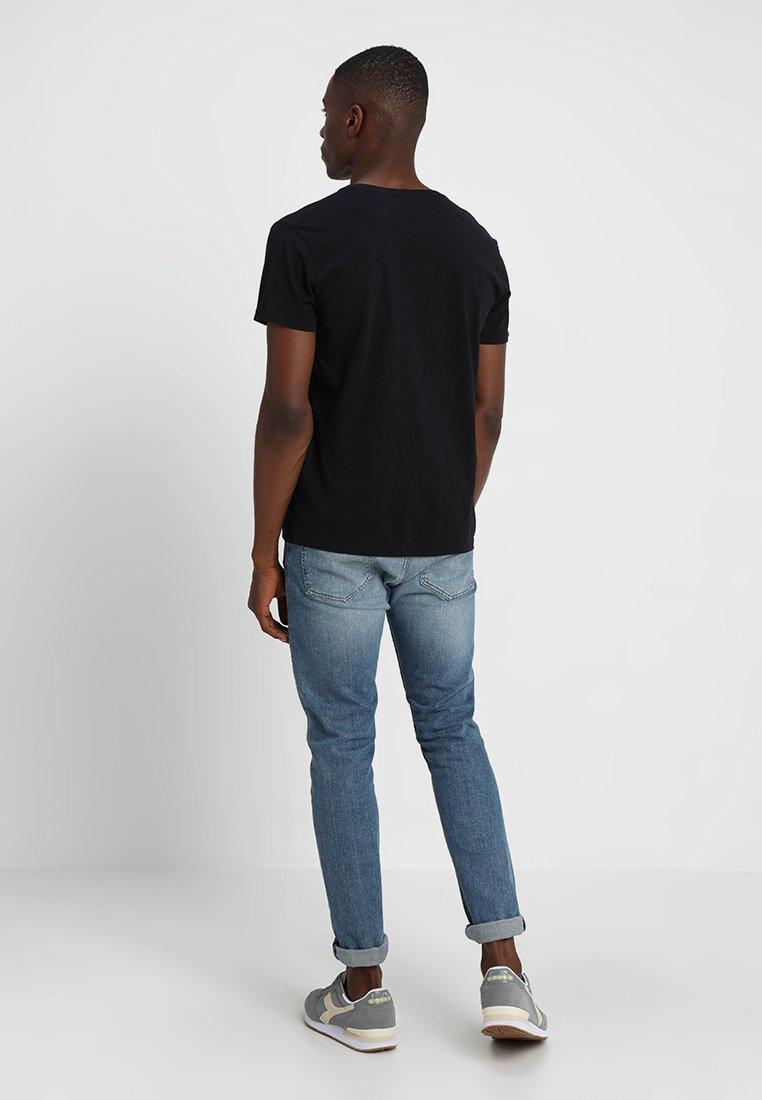 GANT SHIELD - Print T-shirt - black 6UWsh