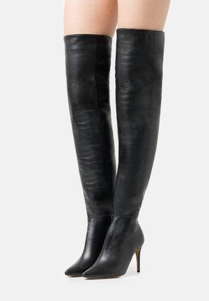 A LITTLE BIT LONGER - Boots - black