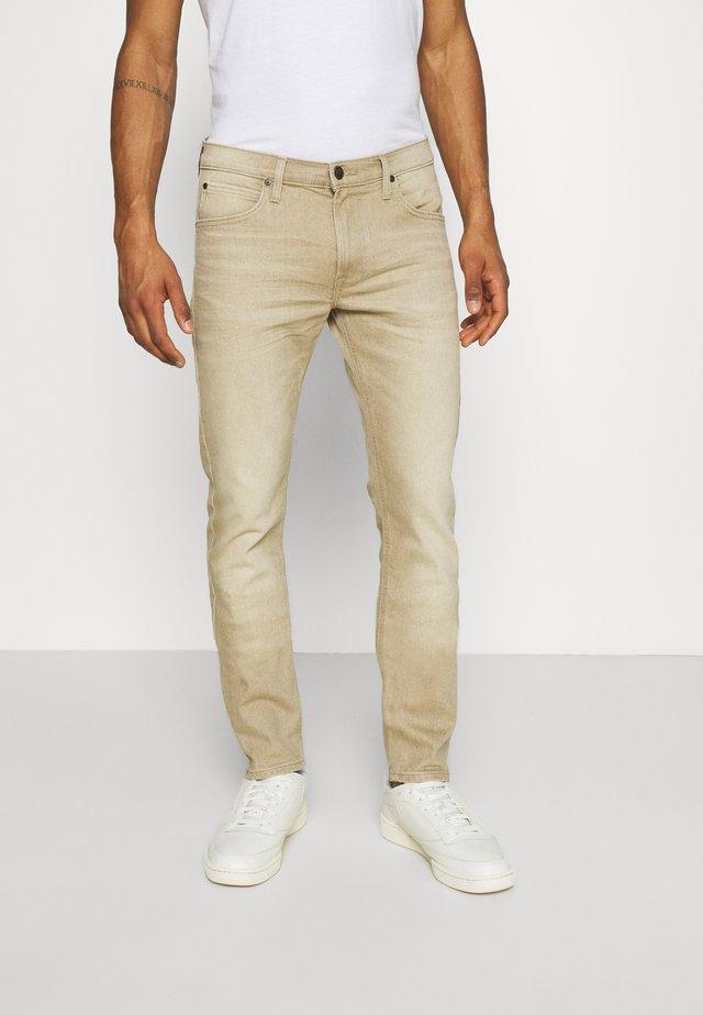 LUKE - Jean slim - faded beige