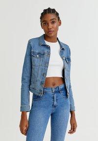 PULL&BEAR - Veste en jean - light blue - 0