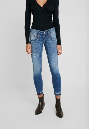 PITCH SLIM CROPPED - Skinny džíny - mariana blue