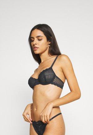 CHERIE CHERIE CLASSIQUE - Underwired bra - black
