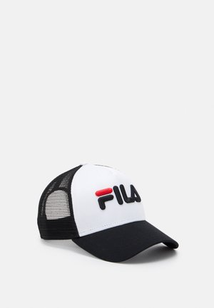 TRUCKER WITH LENIAR LOGO - Cap - black/bright white