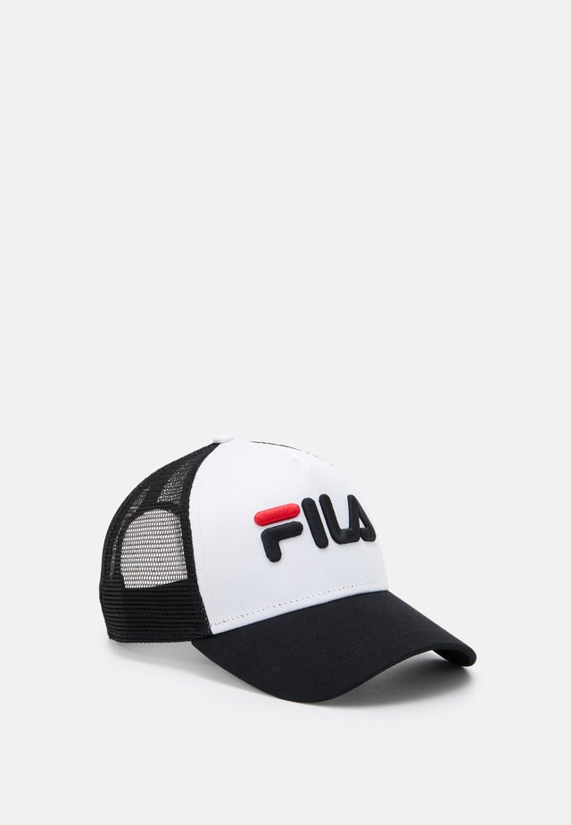 TRUCKER LINEAR LOGO SNAP BACK UNISEX - Keps - black/bright white