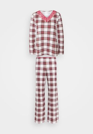 Pyjamas - red/beige