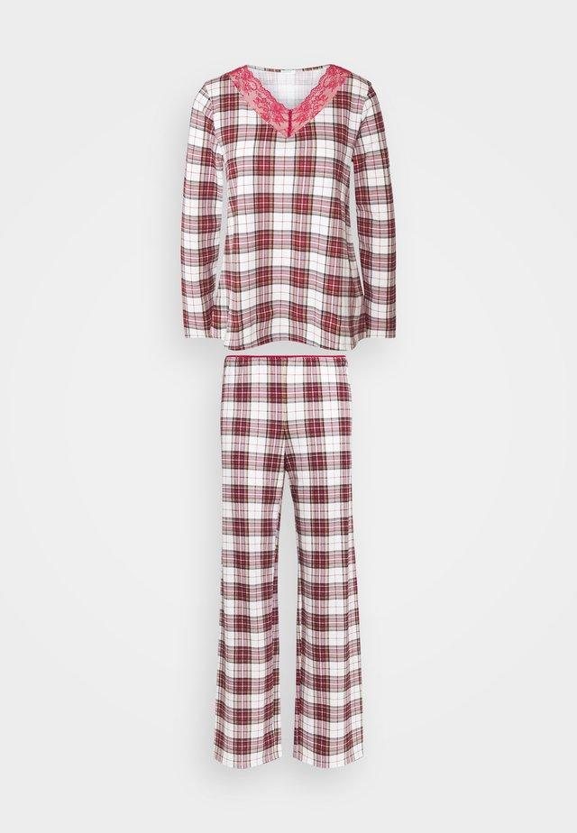 Pyjama - red/beige