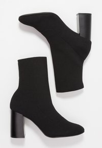 Bianco - High heeled ankle boots - black - 3