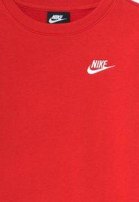 Nike Sportswear - CREW CLUB - Mikina - university red/white - 2