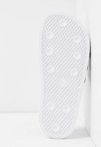 adidas Originals - ADILETTE  - Mules - footwear white/core black - 6