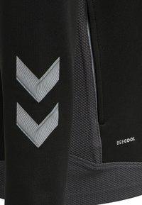 Hummel - HML LEAD  - Zip-up sweatshirt - black - 4