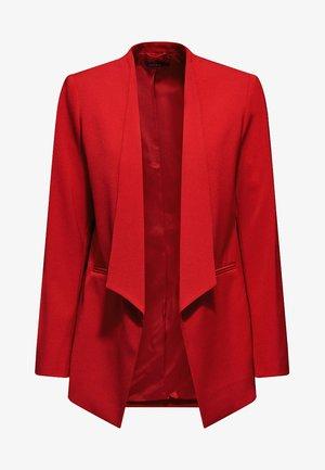 MIT NEUEM SMOKING - Blazer - dark red