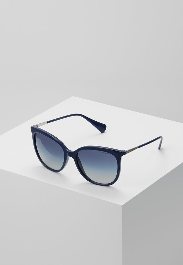 Sunglasses - blue solid