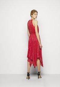 MICHAEL Michael Kors - PLEATD HALTR - Cocktail dress / Party dress - crimson - 2