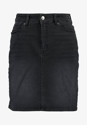 ROSIE SKIRT COOL - Denim skirt - black