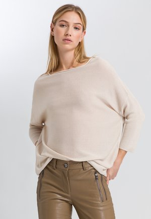 Jumper - ivory varied