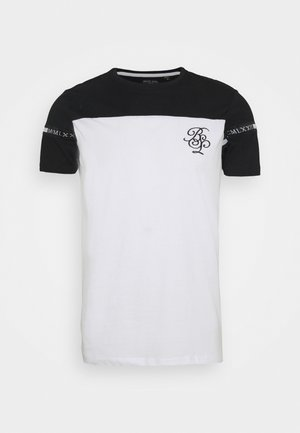 COLLECTIVE - T-shirt con stampa - jet black/optic white