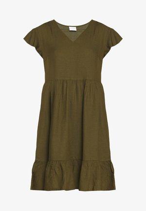 VINASRIN VNECK DRESS - Robe d'été - dark olive