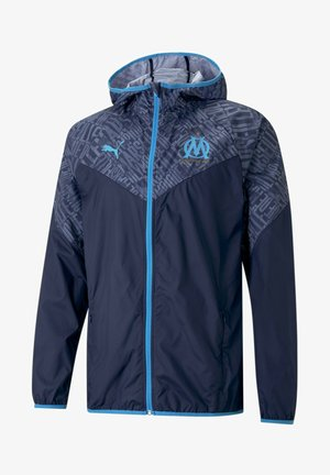 Training jacket - peacoat-bleu azur